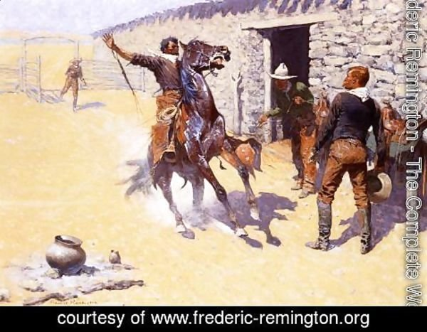 Frederic Remington - The Apaches!