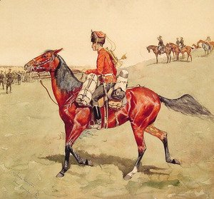Frederic Remington - Hussar, Russian Guard Corps