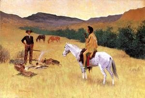 Frederic Remington - The Parley