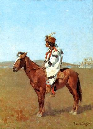Frederic Remington - A Blackfoot Chief