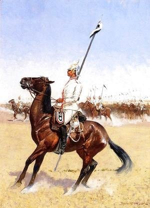 Frederic Remington - Cuirassiers