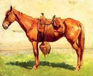 Frederic Remington - Cow Pony