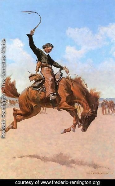 Frederic Remington - The Bronco Buster