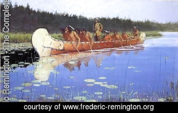 Frederic Remington - Radisson and Groseilliers
