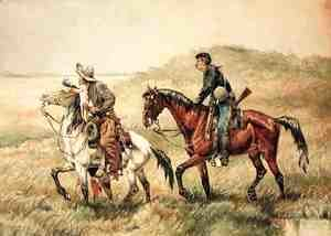 Frederic Remington - The Couriers