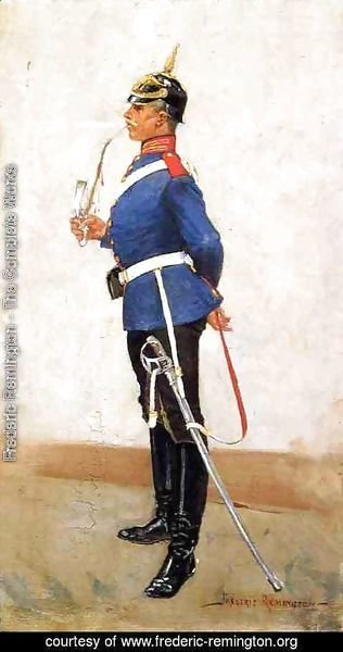 Frederic Remington - Infantry Officer, Full Dress