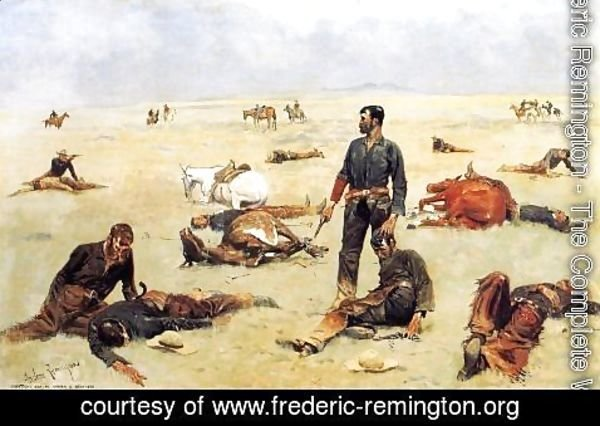 Frederic Remington - What an Unbranded Cos Has Cost
