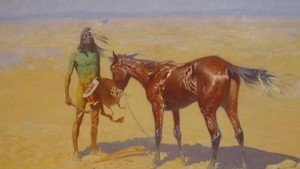 Frederic Remington - Ridden Down