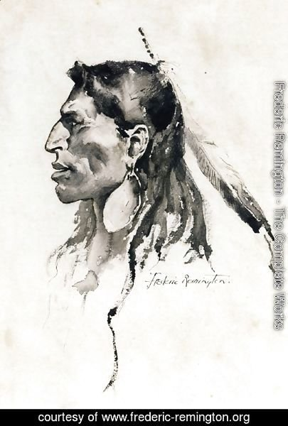 Frederic Remington - The Cheyenne Type