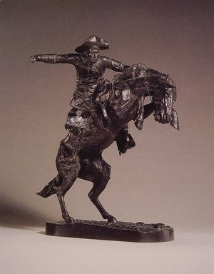 Frederic Remington - The Bronco Buster I