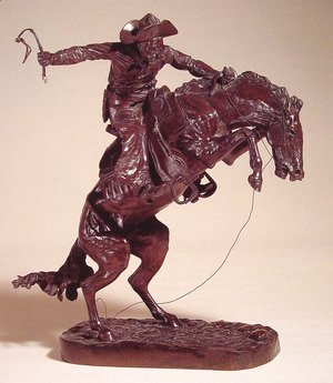 Frederic Remington - Bronco Buster