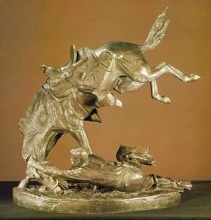 Frederic Remington - Wicked Pony