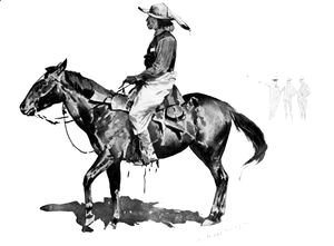 Frederic Remington - A Reservation Indian
