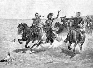 Frederic Remington - Arrest of a Blackfeet Murderer