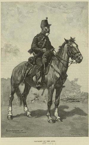 Mexican Cavalry of the Line