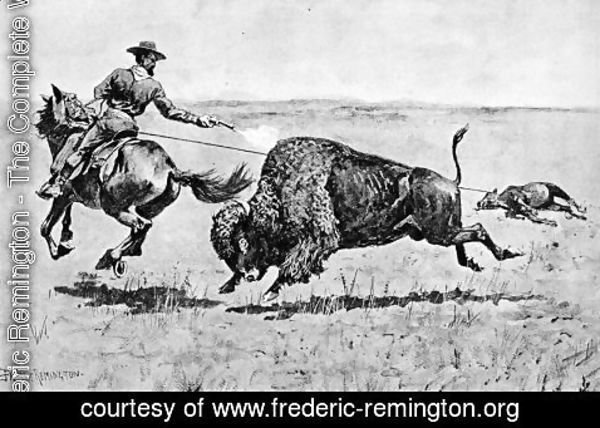 Frederic Remington - Mr. Jones's Adventure