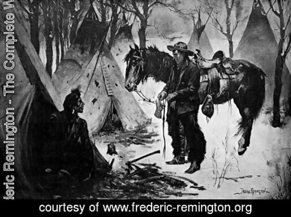 Frederic Remington - On The Cattle Range
