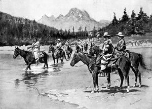 Frederic Remington - Recent Uprising among the Bannock Indians