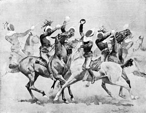 Frederic Remington - Sketches at the Circus of Troop 'A'