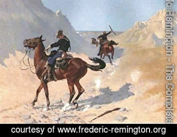 Frederic Remington - The Advance Guard