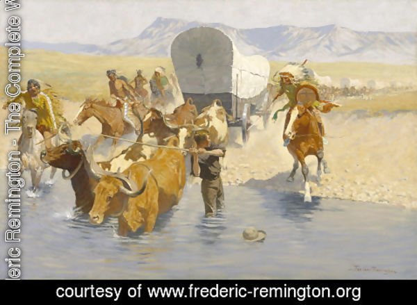 Frederic Remington - The Emigrants