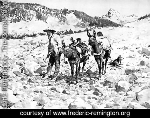 Frederic Remington - The Gold Bug