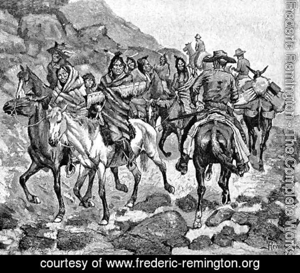 Frederic Remington - The Indians We Met