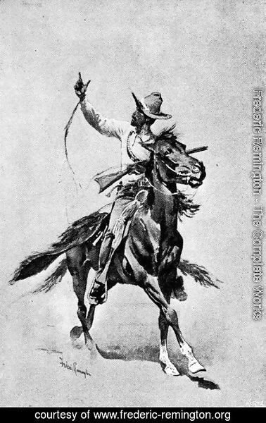 Frederic Remington - The Mexican Guide