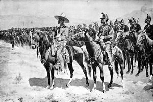 Frederic Remington - The Mexican Major