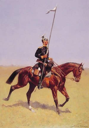 Frederic Remington - Uhlan (Lancer)