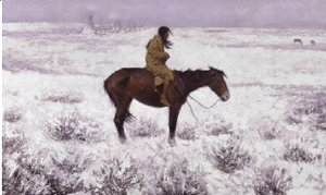 Frederic Remington - The Herd Boy 1905