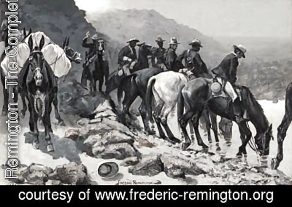Frederic Remington - Untitled