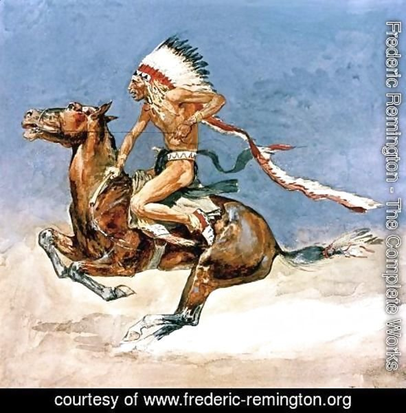 Frederic Remington - Pony War Dance