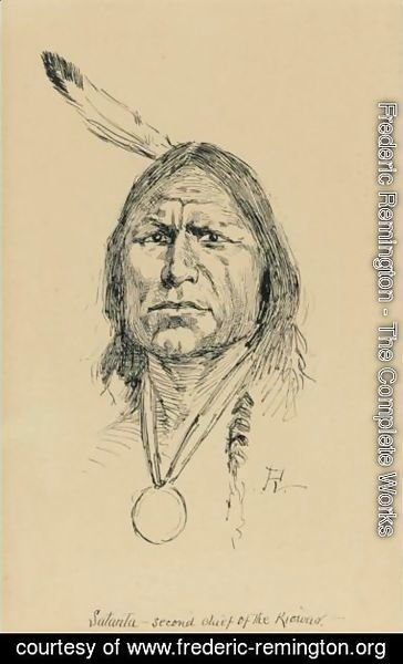 Frederic Remington - Satanta, Second Chief Of Riowas
