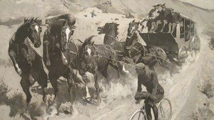 Frederic Remington - The Right of the Road