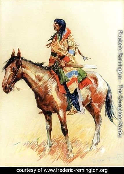 Frederic Remington - A Breed
