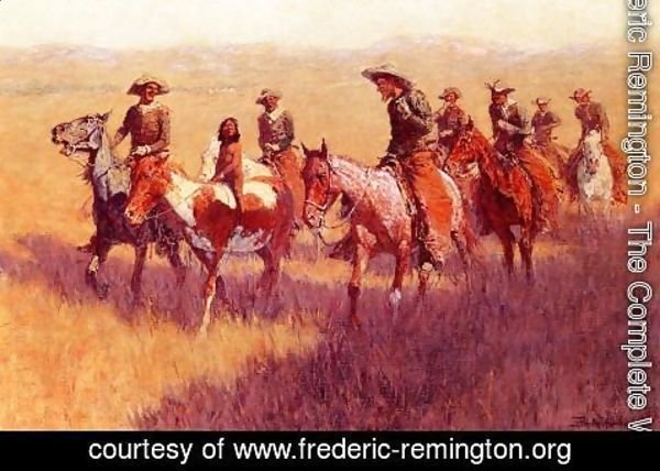 Frederic Remington - An Assault On His Dignity