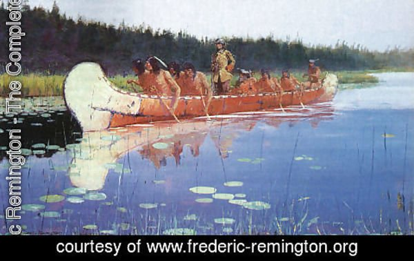 Frederic Remington - Great Explorers 1905
