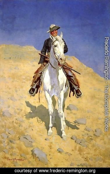 frederic remington the complete works self portrait on a horse