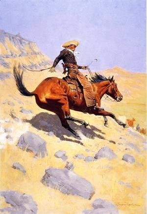Frederic Remington - The Cowboy